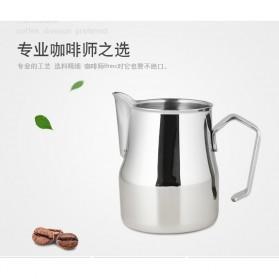 TTLIFE Gelas Pitcher Kopi Espresso Latte Art Stainless Steel 550ml - AA0048 - Silver - 3