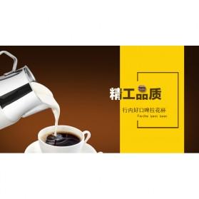 TTLIFE Gelas Pitcher Kopi Espresso Latte Art Stainless Steel 550ml - AA0048 - Silver - 5