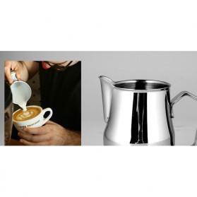 TTLIFE Gelas Pitcher Kopi Espresso Latte Art Stainless Steel 550ml - AA0048 - Silver - 6