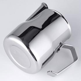 TTLIFE Gelas Pitcher Kopi Espresso Latte Art Stainless Steel 550ml - AA0048 - Silver - 7
