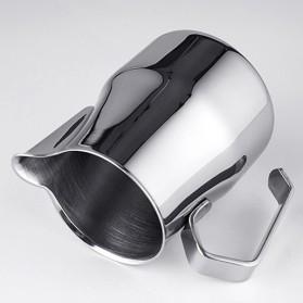 TTLIFE Gelas Pitcher Kopi Espresso Latte Art Stainless Steel 550ml - AA0048 - Silver - 8