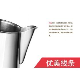 TTLIFE Gelas Pitcher Kopi Espresso Latte Art Stainless Steel 550ml - AA0048 - Silver - 9