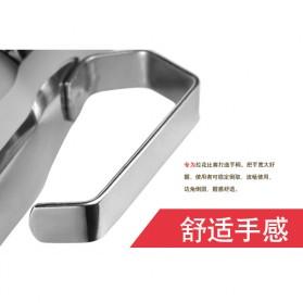 TTLIFE Gelas Pitcher Kopi Espresso Latte Art Stainless Steel 550ml - AA0048 - Silver - 10