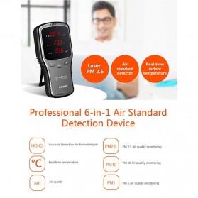 Air Quality Formaldehyde Detector Sensor PM1.0 PM2.5 PM10 HCHO - WP6910 - Black - 2