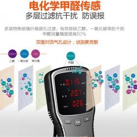 Air Quality Formaldehyde Detector Sensor PM1.0 PM2.5 PM10 HCHO - WP6910 - Black - 5