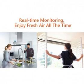 Air Quality Formaldehyde Detector Sensor PM1.0 PM2.5 PM10 HCHO - WP6910 - Black - 9