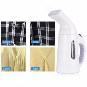 WOXOYOZO Setrika Uap Handheld Garment Steamer 120ml - HDL-7010 - White - 7