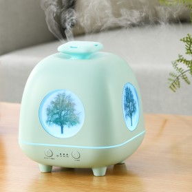 Air Humidifier Pelembab Udara Aromatherapy 230ml - Four Season 01 - Blue