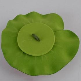 Bunga Lotus Imitasi Dekorasi Kolam Taman - QZ20 - Violet - 3