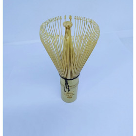 OneTwoCups Kuas Pengaduk Matcha Green Tea Bamboo Whisk Brush - ZF0824-001 - Brown - 10