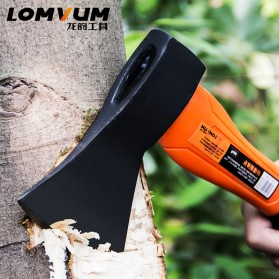 Lomvum Kapak Pemotong Kayu Fiber Handle - LVFT01001 - Black/Orange - 3