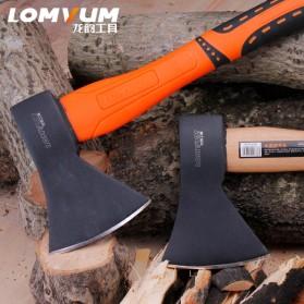 Lomvum Kapak Pemotong Kayu Fiber Handle - LVFT01001 - Black/Orange - 4