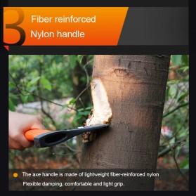 Lomvum Kapak Pemotong Kayu Fiber Handle - LVFT01001 - Black/Orange - 6