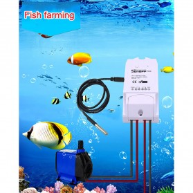 Sonoff Probe Sensor Suhu Temperature Waterproof - DS18B20 - Black - 3