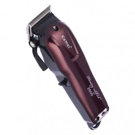 Kemei Alat Cukur Elektrik Hair Trimmer Shaver - KM-2600 - Red