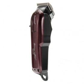 Kemei Alat Cukur Elektrik Hair Trimmer Shaver - KM-2600 - Red - 3