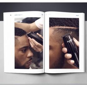 Kemei Alat Cukur Elektrik Hair Trimmer Shaver - KM-701 - Black - 7