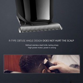 Kemei Alat Cukur Elektrik Hair Trimmer Shaver - KM-701 - Black - 8