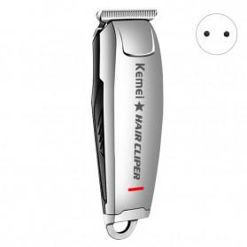 Kemei Alat Cukur Elektrik Hair Trimmer Shaver - KM-2812 - Silver - 2
