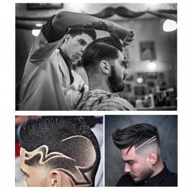 Kemei Alat Cukur Elektrik Hair Trimmer Shaver - KM-2812 - Silver - 4