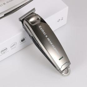 Kemei Alat Cukur Elektrik Hair Trimmer Shaver - KM-2812 - Silver - 6