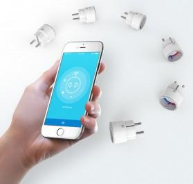 NEO COOLCAM Z-Wave WiFi Smart Socket EU Plug - White - 7
