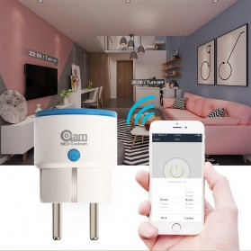 NEO COOLCAM Z-Wave WiFi Smart Socket EU Plug - White - 8