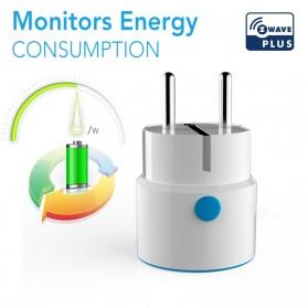 NEO COOLCAM Z-Wave WiFi Smart Socket EU Plug - White - 9