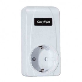 Okaylight Stop Kontak Wireless - OPS100 - White