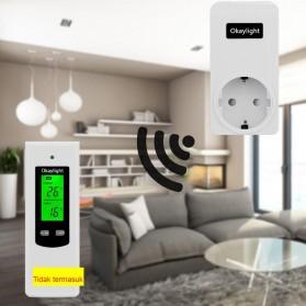 Okaylight Stop Kontak Wireless - OPS100 - White - 2
