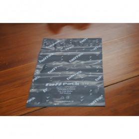 TaffPACK Kantong Amplop Plastik Packing Polymailer Polybag Doff 60 Micron 17x30cm 100 PCS - G17 - Gray - 2