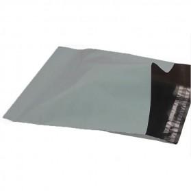 TaffPACK Kantong Amplop Plastik Packing Polymailer Polybag Doff 60 Micron 17x30cm 100 PCS - G17 - Gray - 6