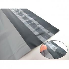 TaffPACK Kantong Amplop Plastik Packing Polymailer Polybag Doff 60 Micron 17x30cm 100 PCS - G17 - Gray - 7