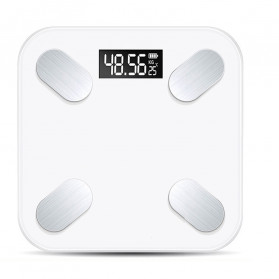 Taffware Digipounds Timbangan Badan Digital Gym Health Scale USB Rechargeable Version - SC-15 - White