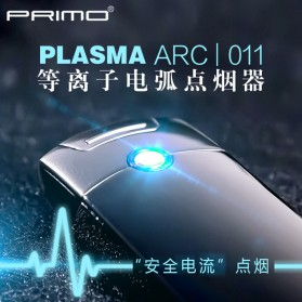 PRIMO Korek Api Elektrik Pulse Plasma Arc Lighter - USB-011 - Multi-Color - 4