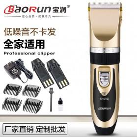 BaoRun Electric Shaver Alat Cukur Elektrik - 938 - Golden - 4