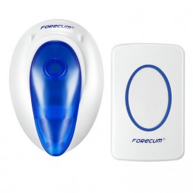 Forecum Alarm Pintu Wireless Waterproof - F7 - White