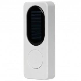 Forecum Alarm Pintu Wireless Waterproof dengan Solar Power - D009 - White - 4