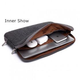 WIWU Waterproof Sleeve Case for Laptop 14 Inch - AK003030 - Black - 2