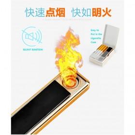 Focus Ciger Korek Elektrik Heating Coil Rechargeable - JD-YQ016 - Black - 2