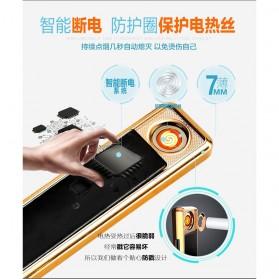 Focus Ciger Korek Elektrik Heating Coil Rechargeable - JD-YQ016 - Black - 4