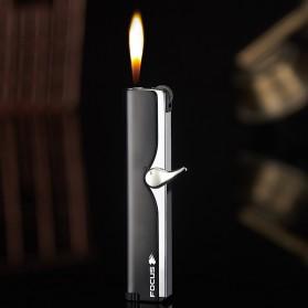 Firetric Focus Korek Api Butane Compact Torch Lighter - JD-F101 - Black - 3
