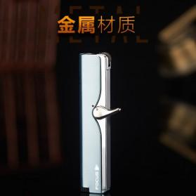 Firetric Focus Korek Api Butane Compact Torch Lighter - JD-F101 - Black - 4
