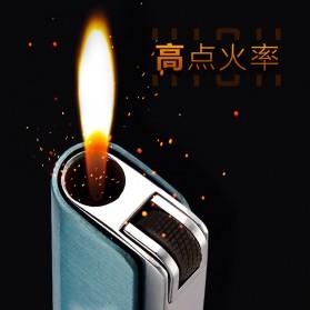 Firetric Focus Korek Api Butane Compact Torch Lighter - JD-F101 - Black - 6