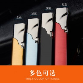 Firetric Focus Korek Api Butane Compact Torch Lighter - JD-F102 - Black - 7