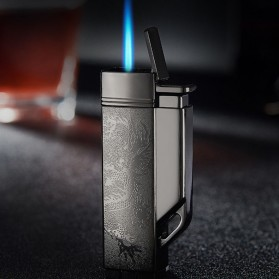 Firetric Focus Korek Api Butane Compact Torch Lighter - CL004 - Black