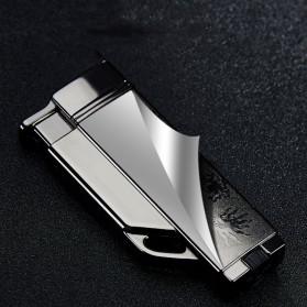 Firetric Focus Korek Api Butane Compact Torch Lighter - CL004 - Black - 5