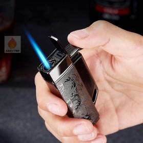 Firetric Focus Korek Api Butane Compact Torch Lighter - CL004 - Black - 7