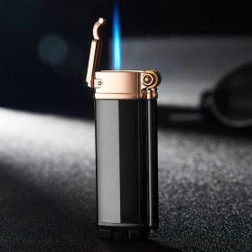 Firetric Focus Korek Api Butane Compact Torch Lighter Windproof - L1099 - Black - 2