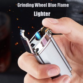 Firetric Focus Korek Api Butane Compact Torch Lighter Windproof - L1099 - Black - 7